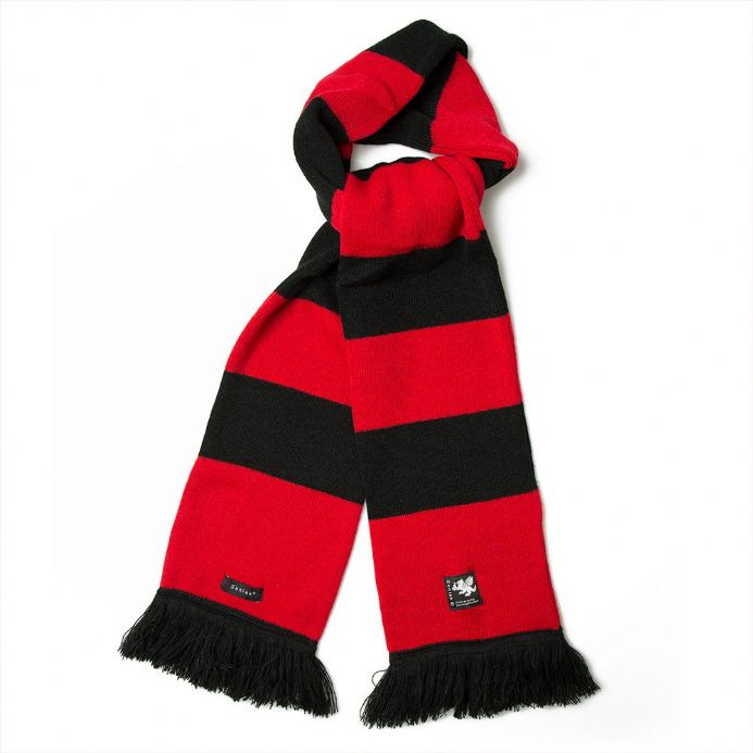 Senlak Knitted Striped Scarf from our range of Anglo-Saxon and England themed clothing